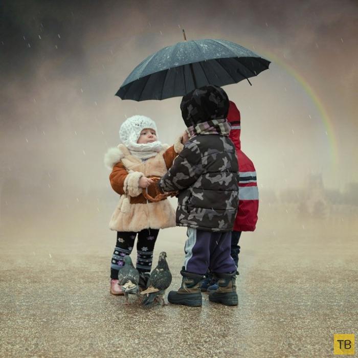 Фантазии детства от румынского фотохудожника Караса Ионуца (Caras Ionut) (29 фото)