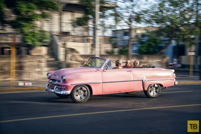 Ретро-автомобили на Кубе (51 фото)