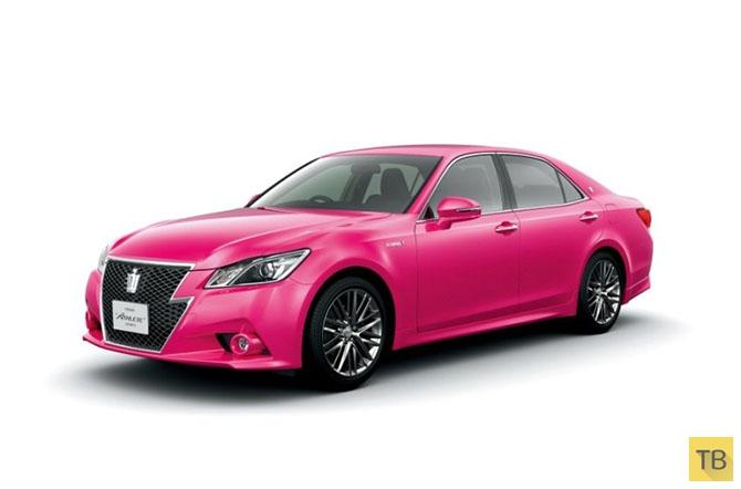 Автомобильный дизайн Азии (11 фото)