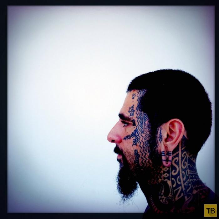 Фестиваль татуировок на Кипре (11 фото)