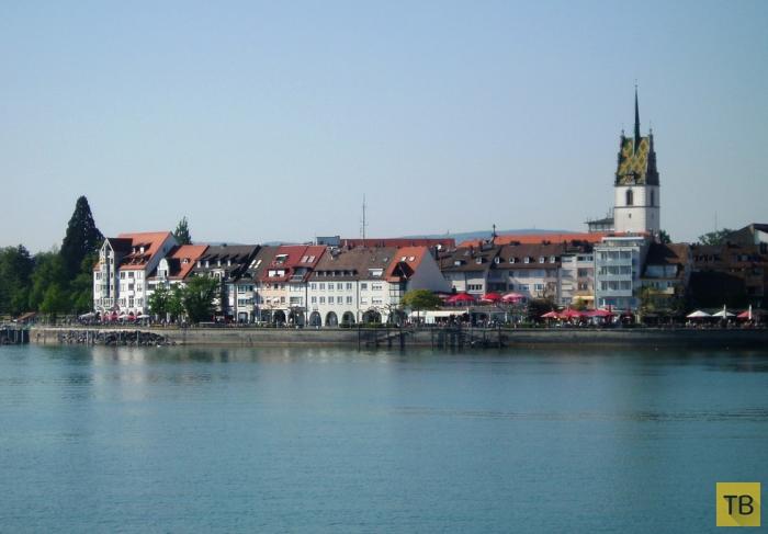 Боденское озеро - достопримечательность Германии (10 фото)