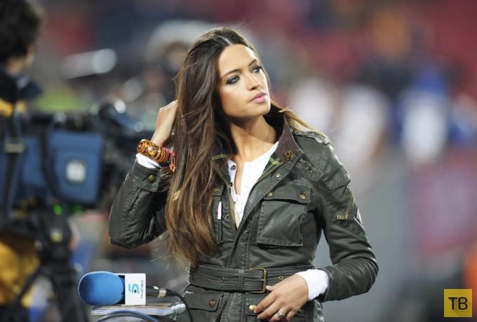 Подруги и жены известных футболистов мира (27 фото)