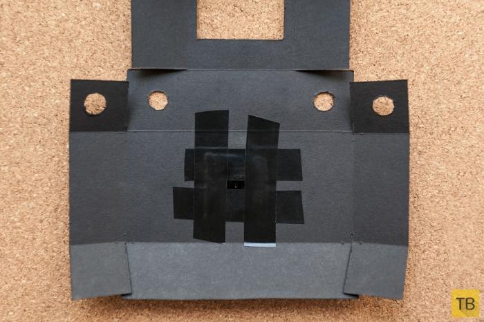 Фотокамера из картона своими руками (23 фото)