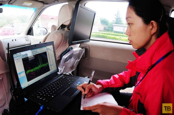 """Высокотехнологичные """"шпаргалки"""" китайских студентов (9 фото)"""