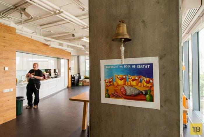 Необычный офис: когда тебя ни в чем не ограничивают (34 фото)