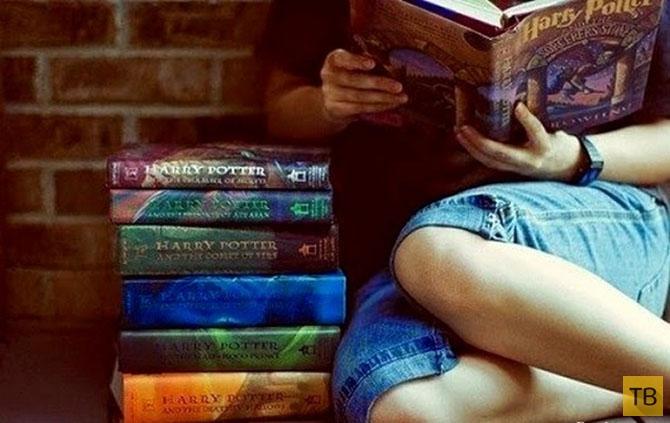 Топ 10: Самые читаемые книги в мире (11 фото)