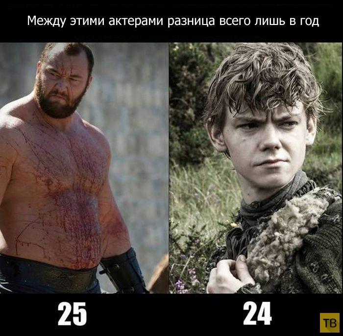 Разница в возрасте (5 фото)