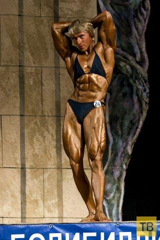 Наталья Огрызко - чемпионка Санкт-Петербурга по пауэрлифтингу (4 фото)