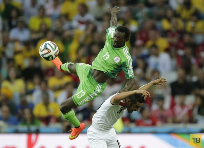 Самые яркие моменты Чемпионата Мира по футболу - 2014, часть 2 (65 фото)