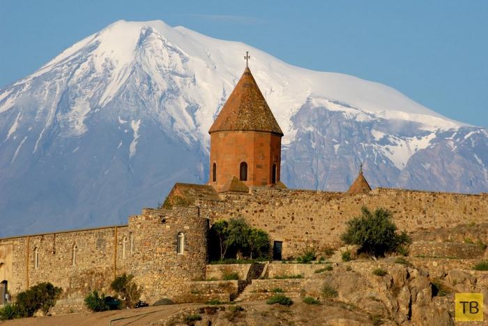 Монастырь Хор Вирап в Армении  (9 фото)