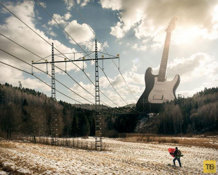 Сюрреалистические фотографии Эрика Йоханссона (14 фото)