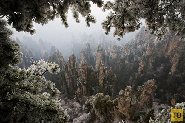 Топ 10: Места на Земле с нереальными космическими пейзажами (16 фото)