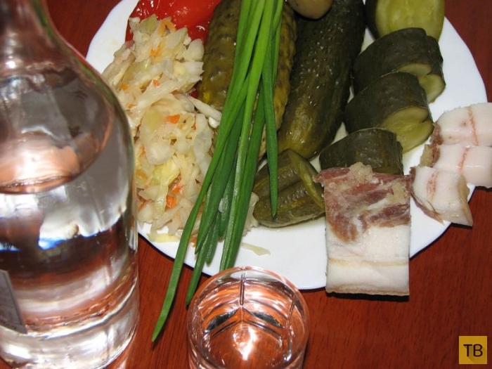Традиционная русская кухня (14 фото)