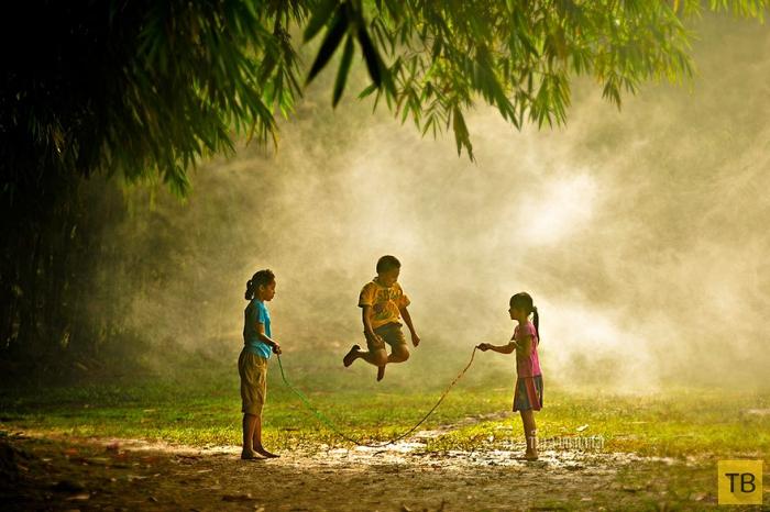 Счастливое и беззаботное детство (32 фото)