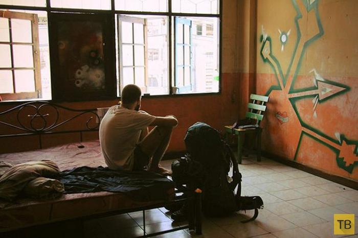 Как отправиться в кругосветное путешествие, сдав однокомнатную квартиру в Москве  (25 фото)