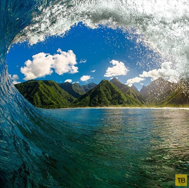 Завораживающие фотографии морских волн  (11 фото)