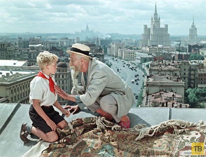Как снимали фильм «Старик Хоттабыч» (9 фото)
