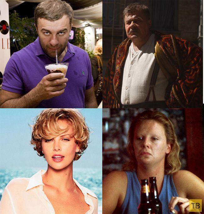 Актеры, кардинально изменившие свой вес для роли (8 фото)