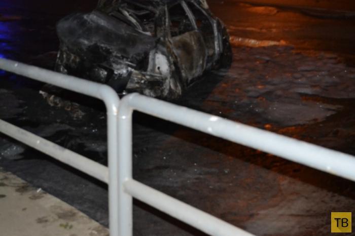 """Жесть!!! Два человека погибли... «Chevrolet Cruze» вылетел на красный свет и столкнулся с """"LADA Priora"""". ДТП на пересечении улиц Авроры-Гагарина, г. Самара"""