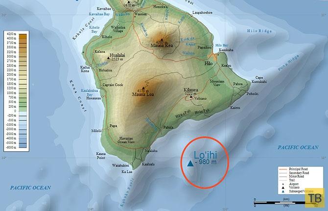 Самое интересное о Гавайских островах (20 фото)