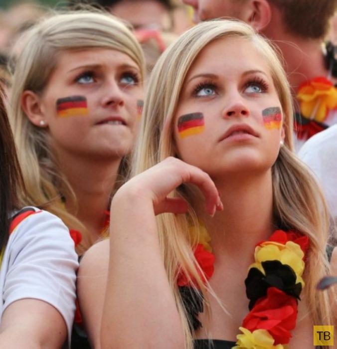Немецкие болельщицы (20 фото)