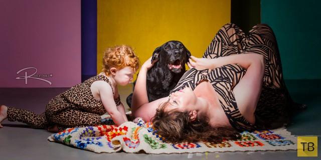 Трогательная фотосессия последнего дня жизни одного пса (12 фото)