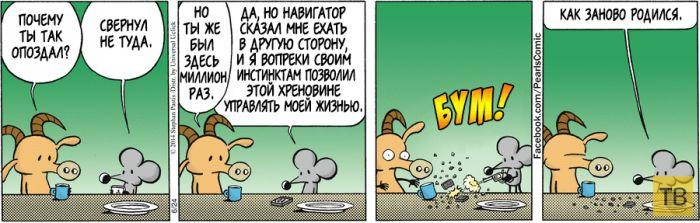Веселые комиксы и карикатуры, часть 157 (15 фото)