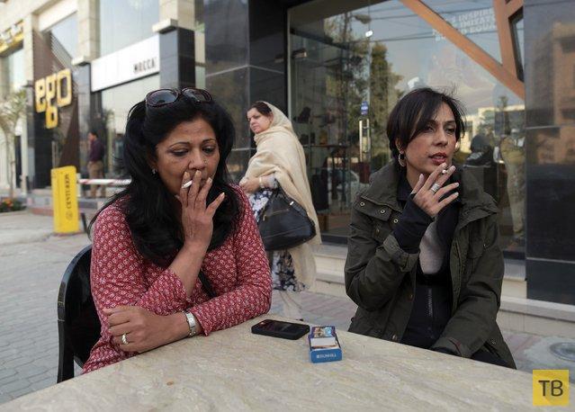Пакистанские женщины ломают стереотипы (15 фото)