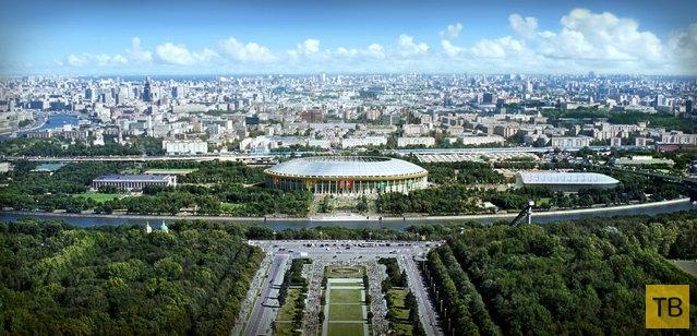 Российские стадионы для Чемпионата мира по футболу 2018 (20 фото)