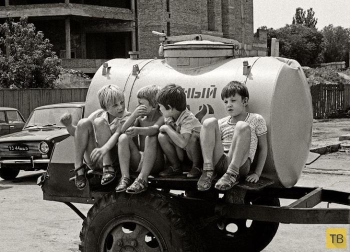 Летние развлечения советских детей (7 фото)
