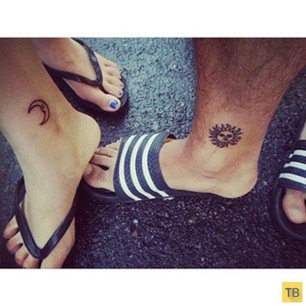 Татуировки со второй половинкой (43 фото)