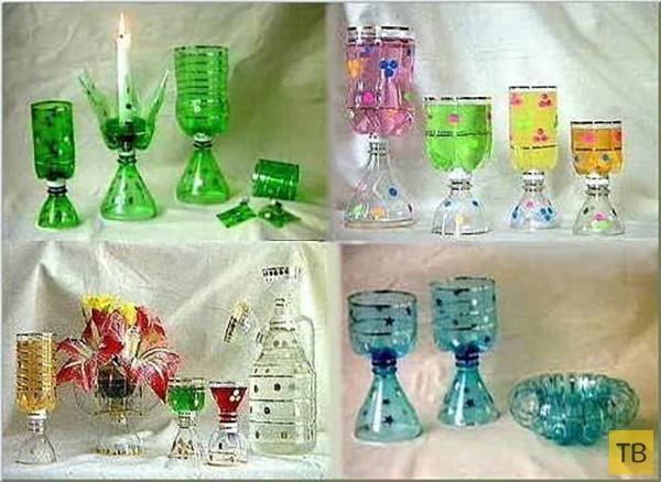Поделки из пластмассовые бутылки