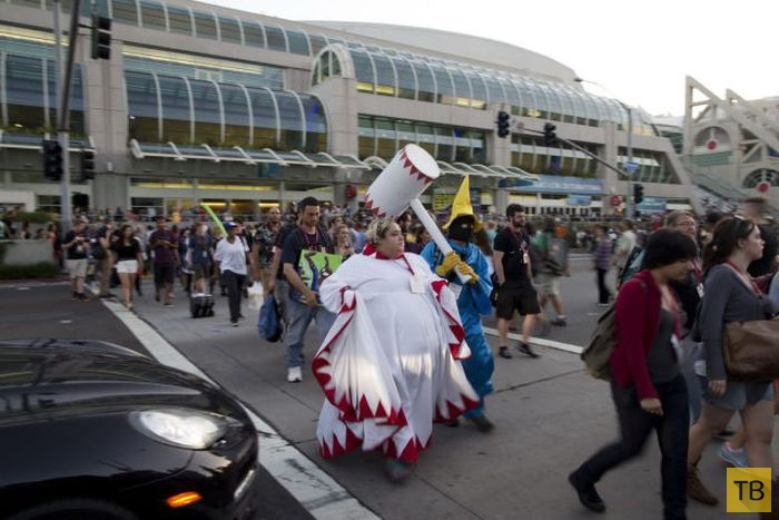 Подборка лучшего косплея, который можно было увидеть на фестивале Comic Con 2014 в Сан-Диего (37 фото)