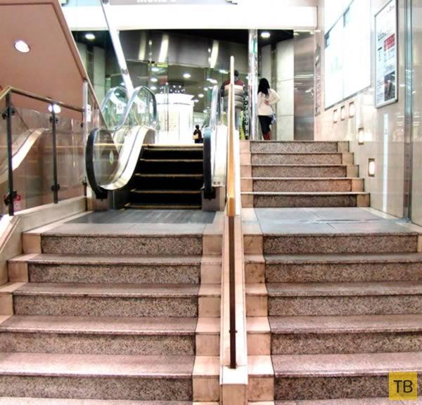 Топ 10: Самые необычные эскалаторы в мире (10 фото)