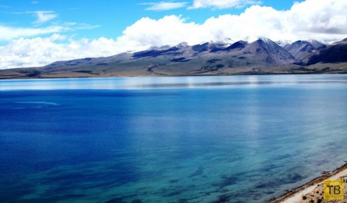 Озеро Манасаровар - священный водоем Тибета (11 фото)
