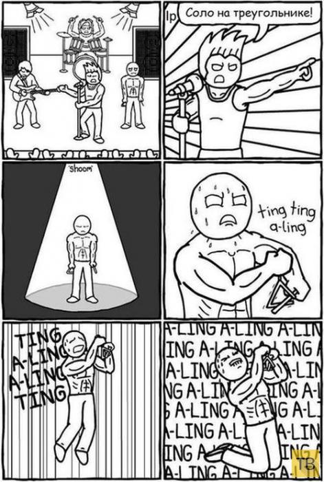 Веселые комиксы и карикатуры, часть 165 (13 фото)