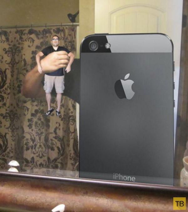 Фото сам себе через айфон