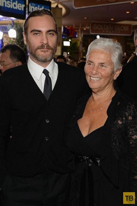 Голливудские звезды и их родители (25 фото)