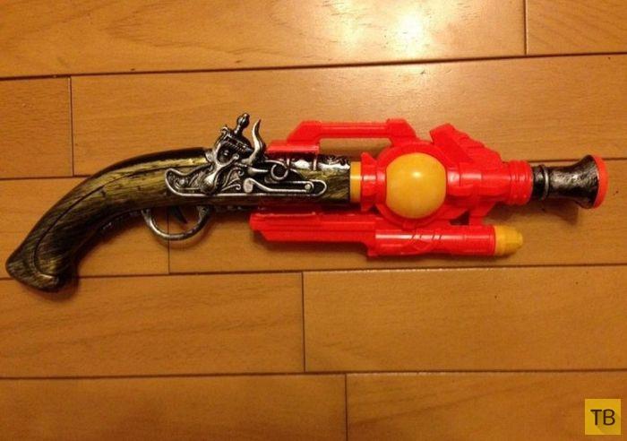 Игрушечные пистолеты своими руками