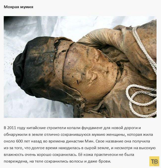 Топ 10: Самые странные и необычные мумии (12 фото)