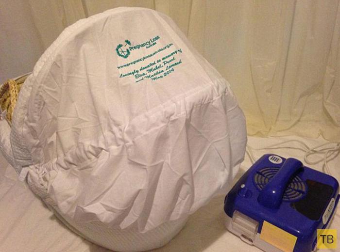 Кроватка для мертворожденных детей (3 фото)