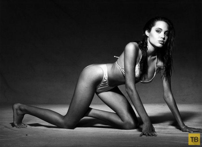 Факты о бурной молодости Анджелины Джоли (15 фото)