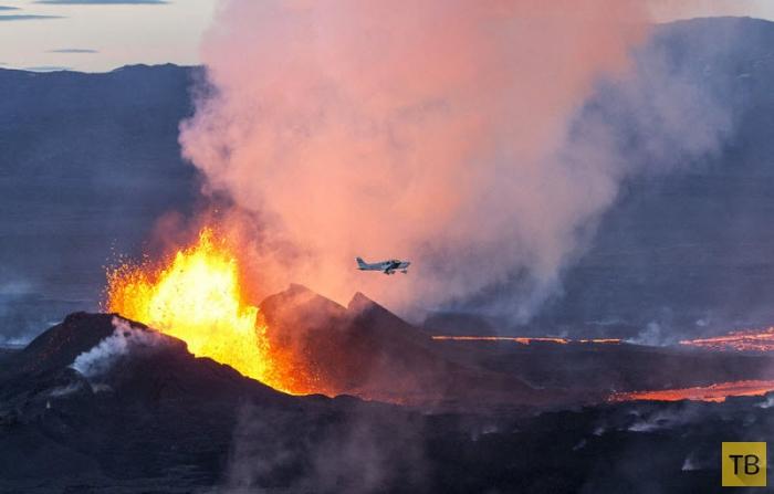 Извержения вулкана Бардарбунга в Исландии (15 фото)