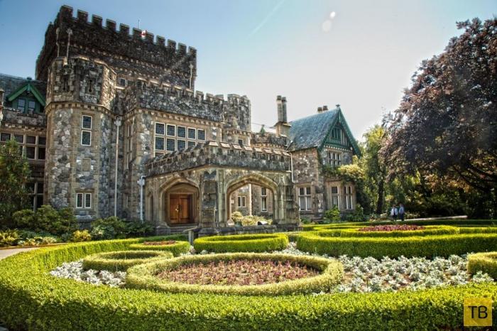 Замок Хэтли в Канаде (11 фото)