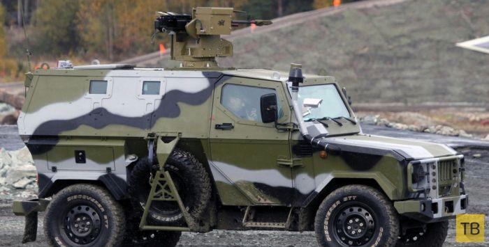 Бронеавтомобили российской армии (11 фото)