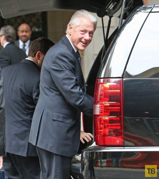 Первые фото новорожденной внучки Билла Клинтона (14 фото)