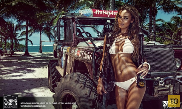 Календарь Мисс Тюнинг-2015 (13 фото)