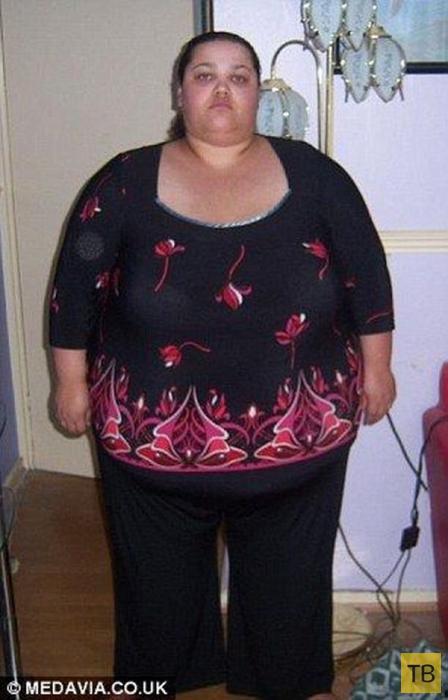 Похудела на 127 кг, отказавшись от помощи врачей (12 фото)