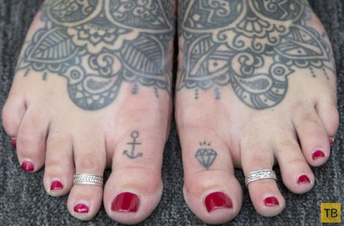 10-я Международная тату-конвенция в Лондоне (12 фото)