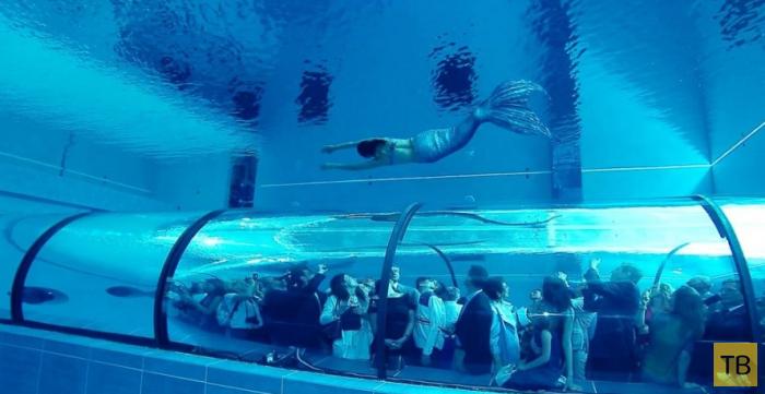 Итальянский бассейн «Y-40 Deep Joy» — самый глубокий бассейн в мире (9 фото)